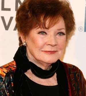 Polly Bergen em foto de 2012 (Foto: Andy Kropa / GETTY / AFP)