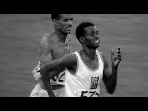 Naftali Temu Wins Kenya's First Olympic Gold - 10,000m | Mexico 1968 Olympics