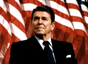 RONALD REAGAN (FOTO: GETTY IMAGES)