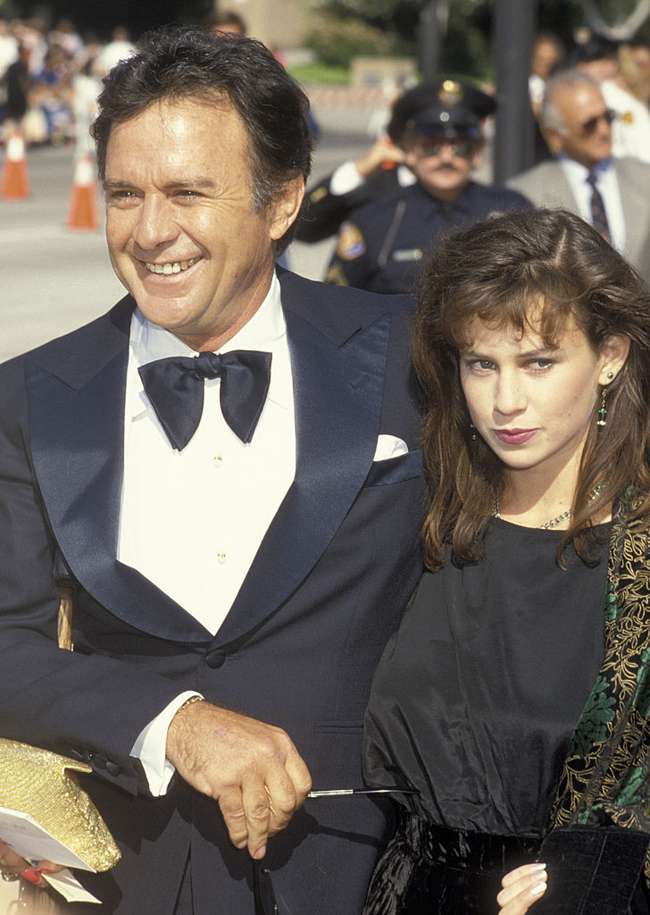 Stacy em 1986 com a filha Heather Elias (Foto: Ron Galella, Ltd./WireImage)