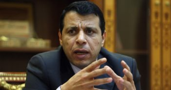 Mohammed Dahlan (Photo credit should read ABBAS MOMANI/AFP/Getty Images)