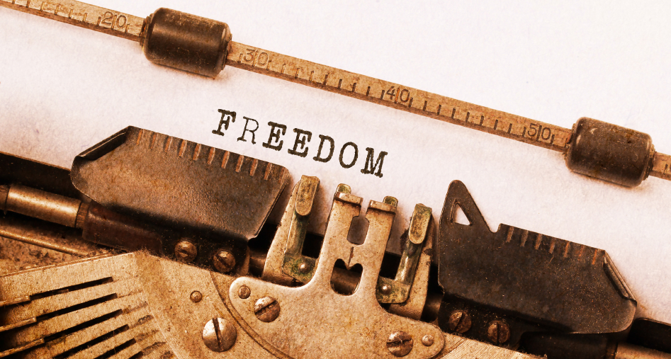 """Freedom to Write"""