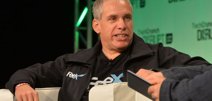 LONDON, ENGLAND - OCTOBER 20: Uri Levine from Waze/Feex speaks on stage during the 2014 TechCrunch Disrupt Europe/London at The Old Billingsgate on October 20, 2014 in London, England. (Photo by Anthony Harvey/Getty Images for TechCrunch)