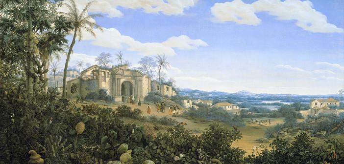 Foi o primeiro artista plástico a registrar a paisagem do Novo Mundo
