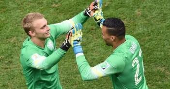 Vorm substitui Cillessen e torna a Holanda o primeiro time a escalar os 23 em uma Copa (Getty Images)