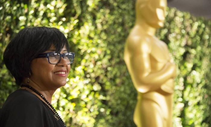 A executiva Cheryl Boone Isaacs, presidente da Academia - (Foto: Richard Harbaugh / A.M.P.A.S.)