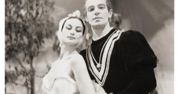 Bertha Rosanova e Aldo Lotufo, Lago dos Cisnes, 1959.