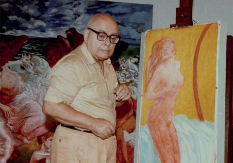 Foi um dos pioneiros da arte contemporânea