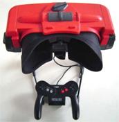 Excêntrico demais, o Virtual Boy, da Nintendo, não pegou