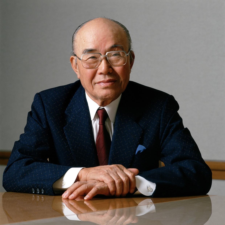 Soichiro Honda, fundador da marca honda.