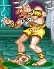 """O elástico Dhalsim, um dos guerreiros de """"Street Fighter II"""""""