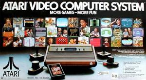 """""""Mais jogos, mais diversão"""" era o slogan da campanha do Atari Video Computer System, que depois ficou conhecido como o Atari 2600"""