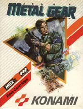 """O visual de Snake na embalagem de """"Metal Gear"""" para MSX"""