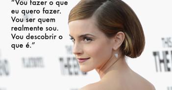 Emma Watson, atriz e ativista redefinindo o que é ser celebridade entre os jovens atores de Hollywood.