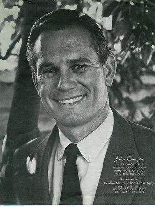 John Compton em foto de seu portfólio como ator (Foto: Reprodução)