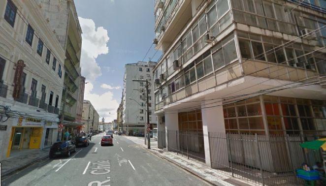 Criada oficialmente pela Câmara de Salvador, em 17 de agosto de 1902, a Rua Chile foi uma homenagem a visita da marinha chilena a cidade - (Foto: Reprodução/Google Street View)