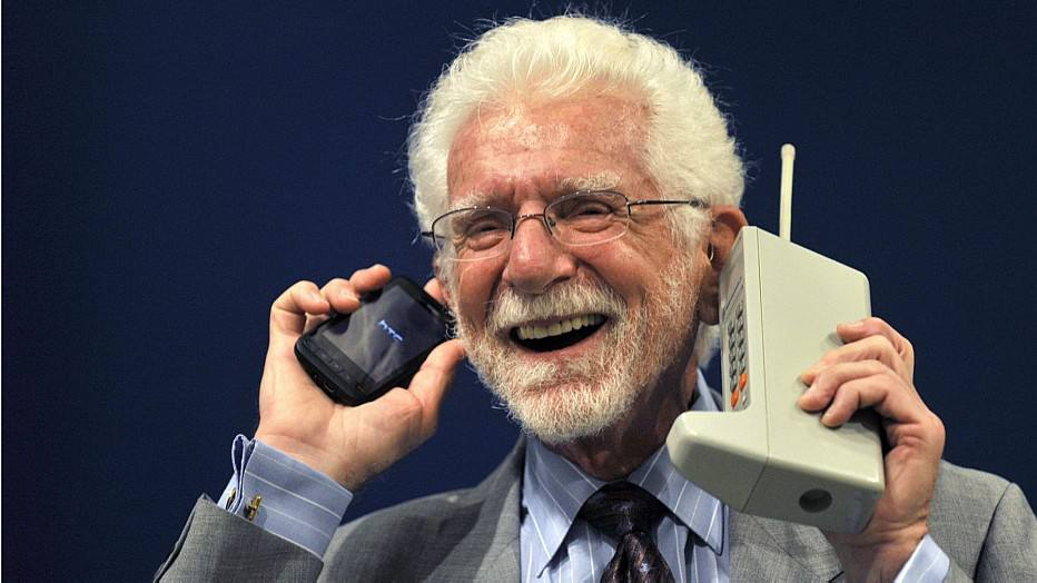 Martin Cooper (Foto: REUTERS/ELOY ALONSO)
