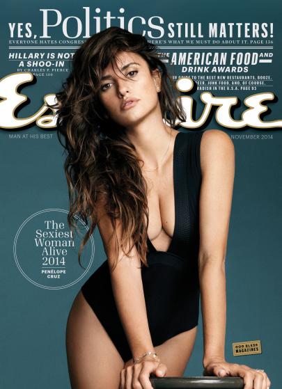 """A capa da revista """"Esquire"""""""