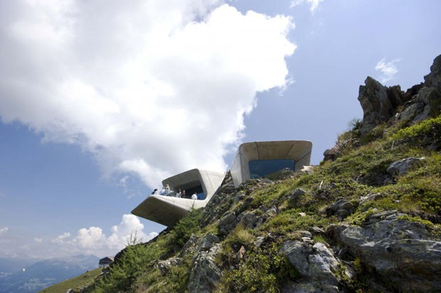 Museu Futurista nos Alpes