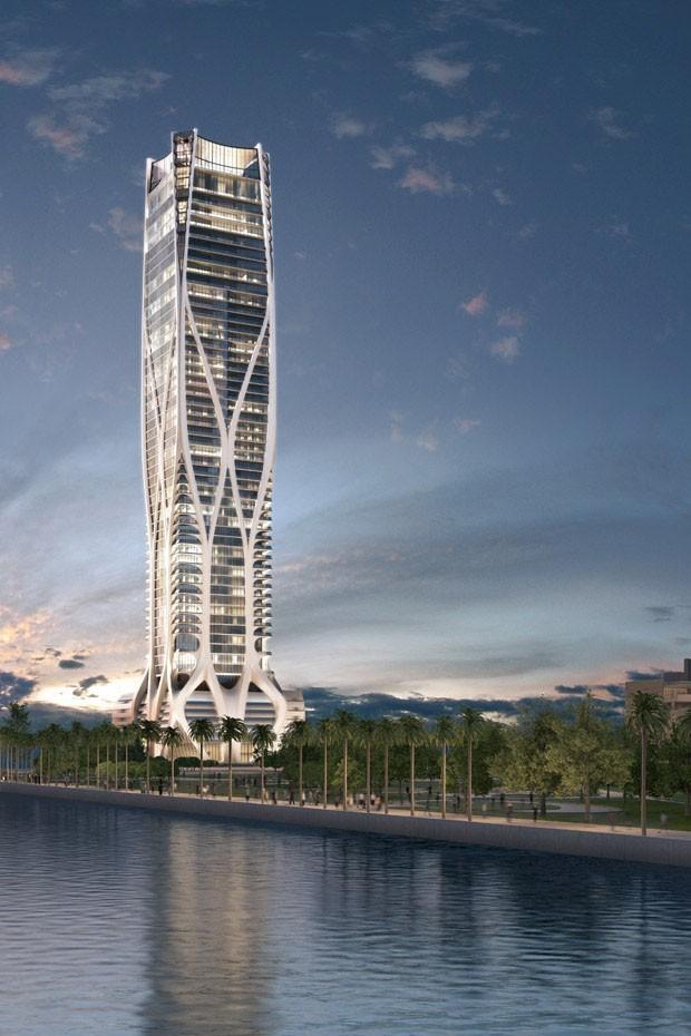 O prédio mais alto de Miami