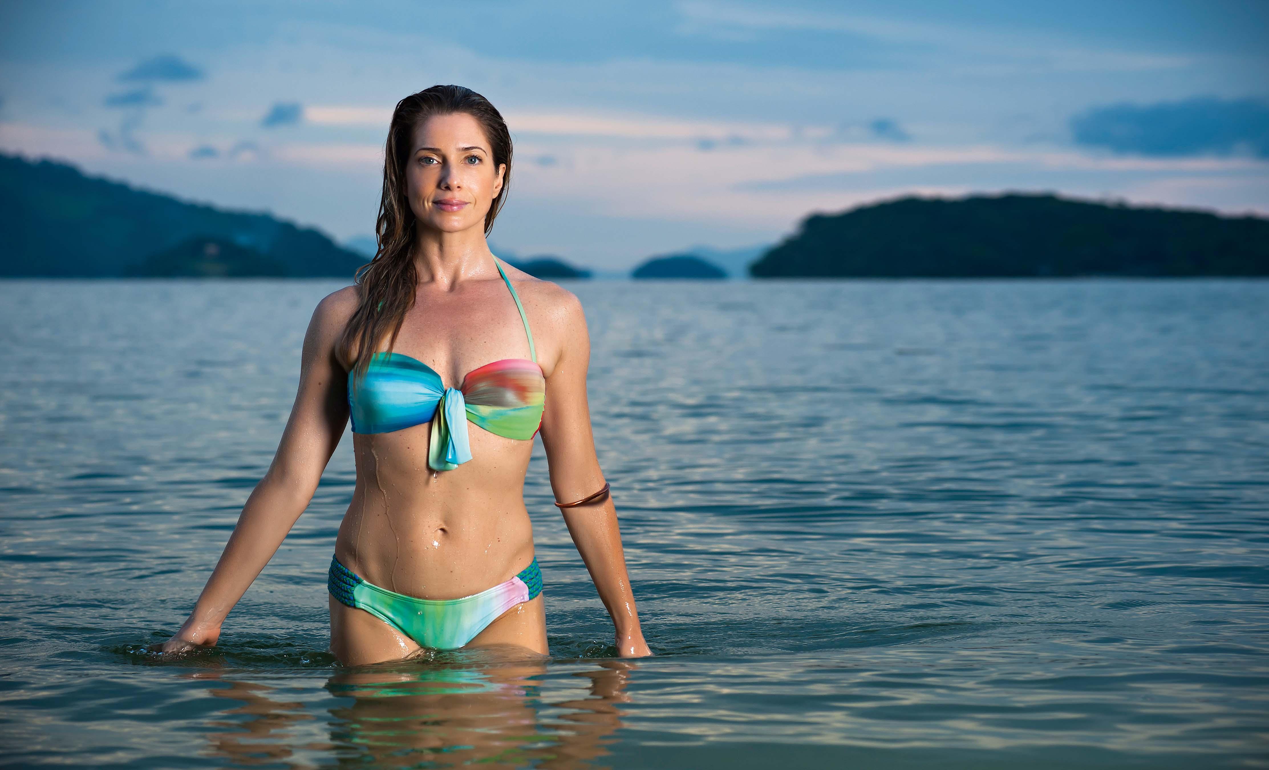 Letícia Spiller em 24 de fevereiro de 2013 - (Foto: Selmy Yassuda/Divulgação)