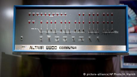 Altair 8800, o primeiro computador pessoal