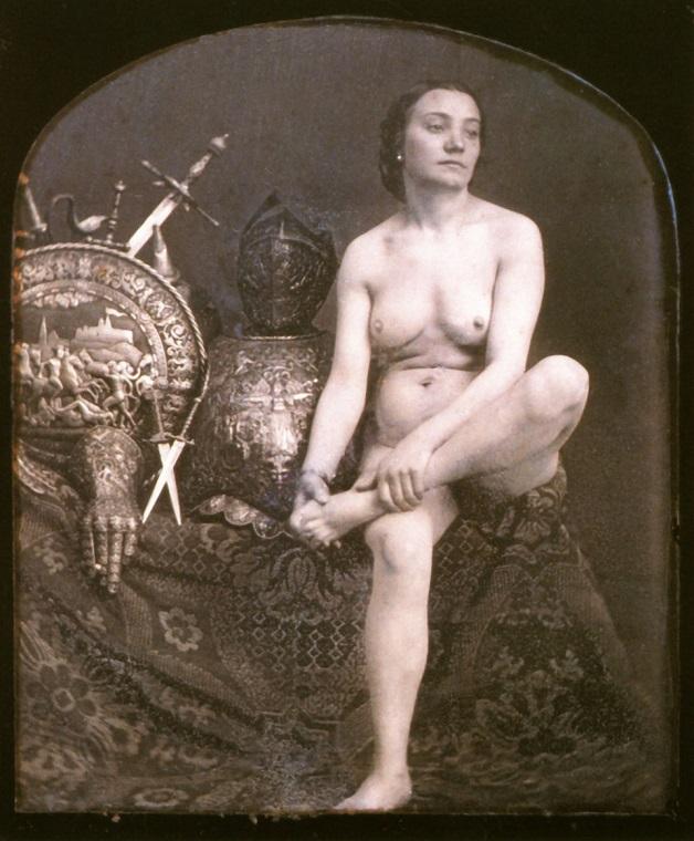 Fotos clicadas em meados dos anos 1850 por um artista desconhecido (Photo by Galerie Bilderwelt/Getty  Images)
