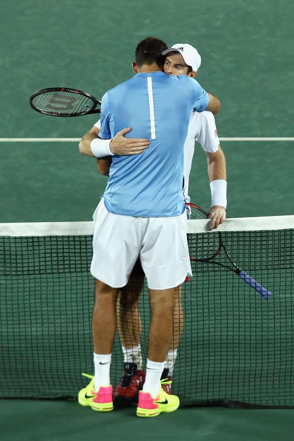 Murray e Del Potro - (Foto: Getty Images)