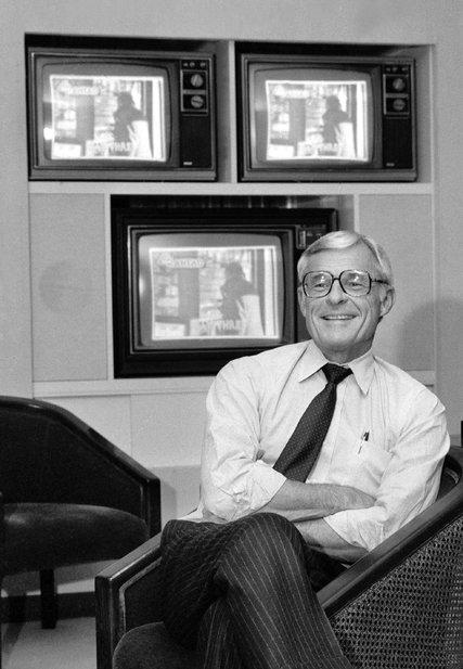 Grant Tinker em 1982. (Foto: Sara Krulwich / The New York Times)