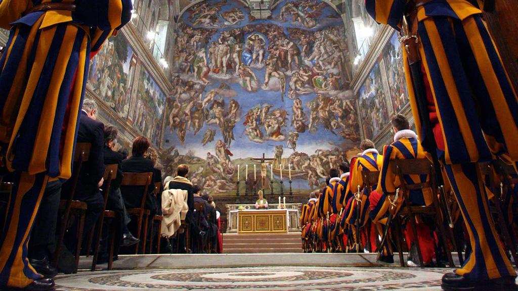 ASCENSÃO Capela Sistina, a parte mais famosa dos Museus do Vaticano