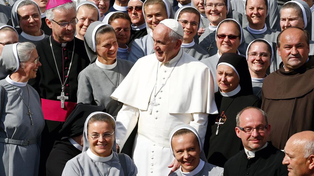 As mulheres da Igreja Católica