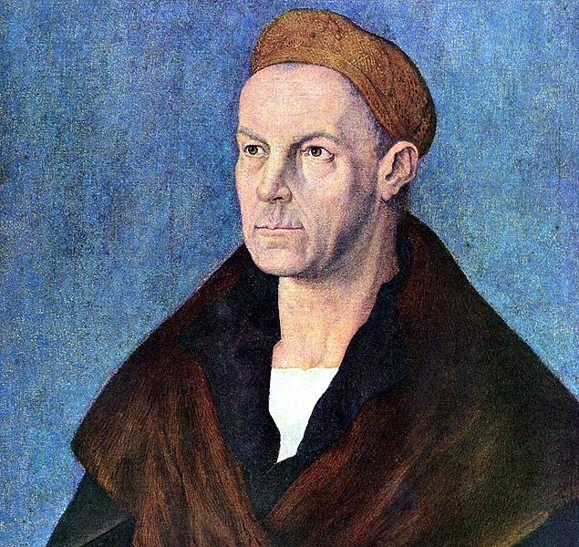 Retrato do banqueiro Jacob Fugger, feito pelo pintor alemão Albrecht Durer (Foto: Reprodução)