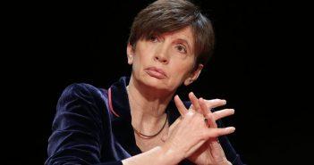 Michèle Léridon (alors Directrice de l'information a l'AFP) le 21 Novembre 2015 à la première journée d'éducation aux médias © Maxppp / Vincent Isore