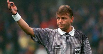 Sandor Puhl, árbitro da final da Copa de 1994 entre Brasil e Itália. (© Getty Images)