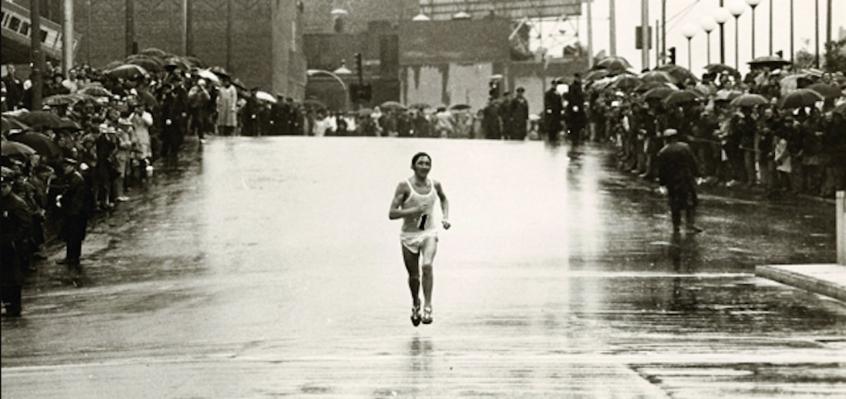 Ron Hill, lenda britânica da maratona. (Parceria Lance & IstoÉ)