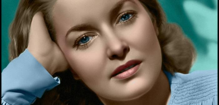 """Patricia Roc, foi uma das estrelas do cinema britânico dos anos 40 e 50, tendo participado de produções como """"A Malvada"""" (1945), de Leslie Arliss (1901-1987)"""